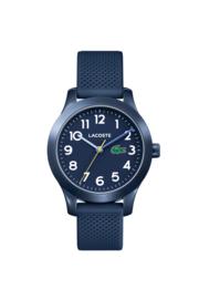 Lacoste Blauw Kids Horloge met Blauwe Silicone Horlogeband