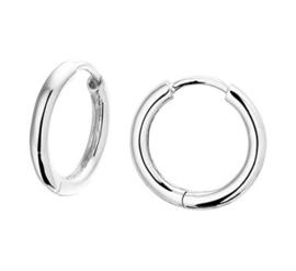 Oorringen 2,0 mm voor Oorring Hangers Zilver