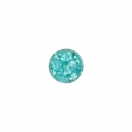Light Green in Resin Insignia Munt van 14mm
