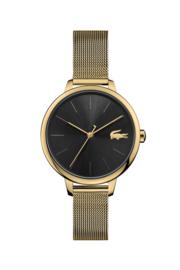 Lacoste Goudkleurig Nikita & Cannes Dames Horloge met Milanese