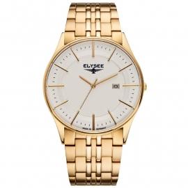 Elysee Heren Horloge / Goudkleur