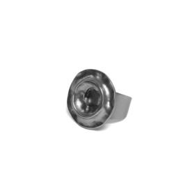Metalen Decoratie Ring met Gunmetal Coating van BIBA