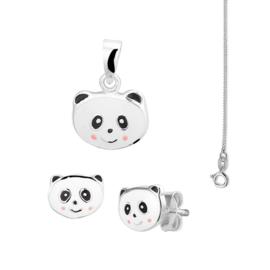 Panda Sieraden Gift Set + Gratis Ketting!