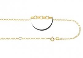 Gouden ketting 38-42 cm Names4ever GCJ02