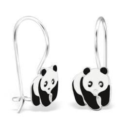 Witte en Zwarte Panda Oorhangers