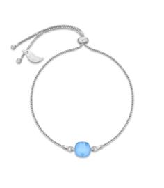 Swarovski Armband van Spark Jewelry met Helder Blauw Swarovski Kristal