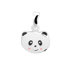 Zilveren Panda Hanger voor Kids