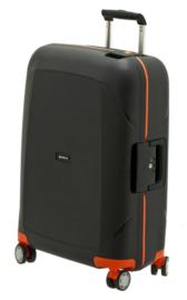 Zwart met Oranje Harde Medium Trolley van Davidts SK-Line