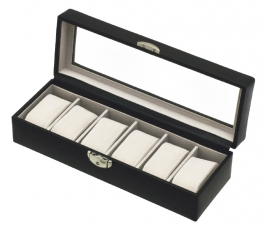 HORLOGEBOX / DAVIDT'S horlogebox zwart