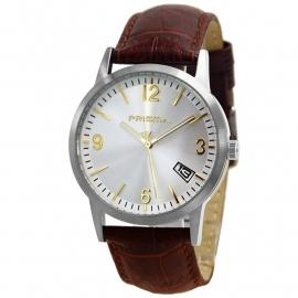Prisma Horloge / Bruin Horlogeband P.2173