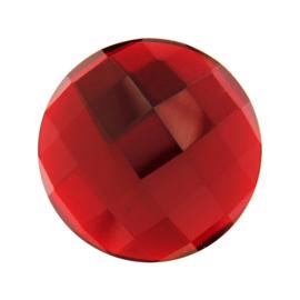 Rode Facetgeslepen Quartz Glas Munt van MY iMenso