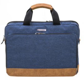 "Navy 15"" Laptop Tas van Davidts Mood & Moov"