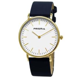 Prisma Horloge Note / Blauw Horlogeband 1620.606G