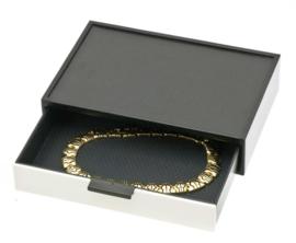 Witte Glamour Box voor Sieraden van Davidts