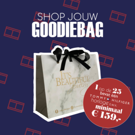 Mystery Goodiebag t.w.v. € 80,- euro!