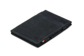 Carbon Zwarte Magic Wallet van Essenziale Garzini