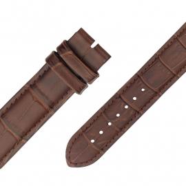 MY iMenso Quartz Bruin leren Horlogeband