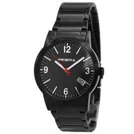 Prisma Heren Horloge P.2177 Zwart Edelstaal