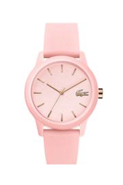 Lacoste Roze Dames Horloge met Roze Silicone Horlogeband