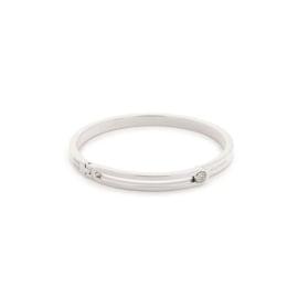 Tommy Hilfiger Zilverkleurige Dames Armband van Edelstaal