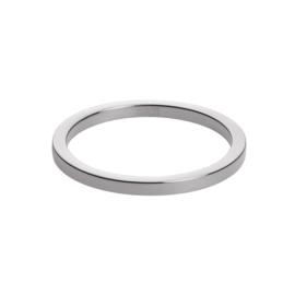 Slanke Gepolijste Zilverkleurige Ring van M&M