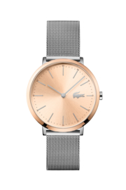Lacoste Roségoudkleurig Dames Horloge met Milanese Horlogeband