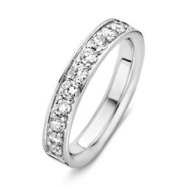 Excellent Jewelry Witgouden Ring met 0,77crt. aan Briljanten