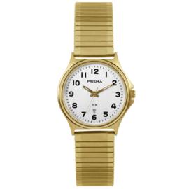 Stijlvol Goudkleurig Dames Horloge van Prisma