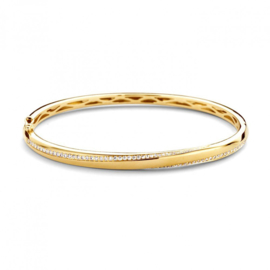 Excellent Jewelry Geelgouden Bangle Armband met 0,63 crt. Briljanten