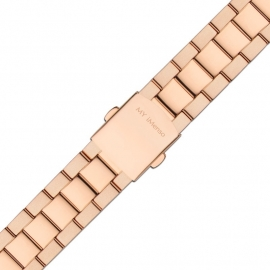 MY iMenso Quartz Mat/Gepolijste Horlogeband / Roségoudkleurig