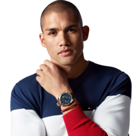 Tommy Hilfiger Luxueus Horloge met Goudkleurige Cirkel TH1791561
