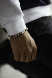 Essential Silver | Witte Jade Kralen Armband van Blaauw Bloed