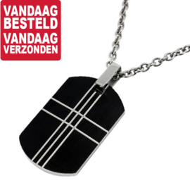 Crossing Lines Kettinghanger - Graveer Hanger