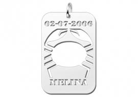 Names4ever Kreeft Horoscoop Hanger ZHS040