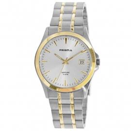 Prisma Horloge P.1771 Heren Edelstaal Saffierglas