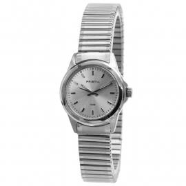 Prisma Dames Horloge met Edelstalen Rekband