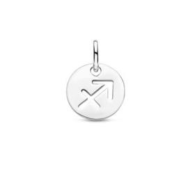 Boogschutter Sterrenbeeld Hanger | Zilver