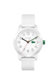 Lacoste Wit Kids Horloge met Witte Silicone Horlogeband