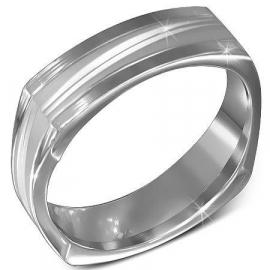 Vierkante graveer ring SKU74903