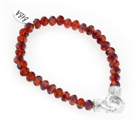 BIBA armband met oranje kralen 5008Orange