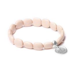 Beige Armband van BIBA 53093MIX3