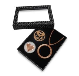 Stijlvolle Roségoudkleurige LOCKits Gift Set