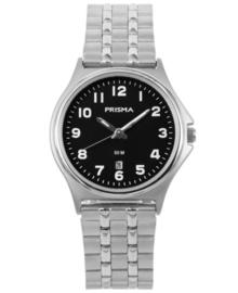 Dames Horloge met Zwarte Wijzerplaat