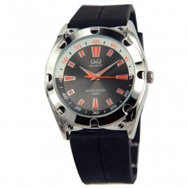 Trendy Q&Q Horloge met zwart horlogeband