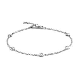 Excellent Jewelry Witgouden Armband met 0,25 crt. Briljanten