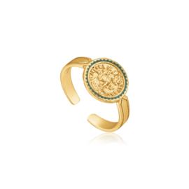 Emperor Adjustable Ring van Ania Haie