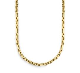 Gouden Collier Anker 4,8 mm 45 cm