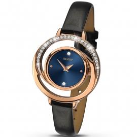 Sekonda Horloge SEK.2142 Dames Roségoud Strass