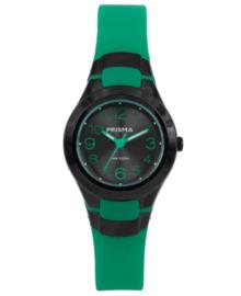 Prisma Sport Jongens/Meisjes Horloge met Groene Horlogeband