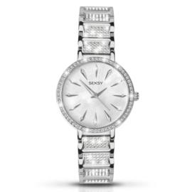 Sierdiamant Horloge van Seksy Sekonda voor Dames